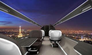 המטוס העתידני ללא החלונות