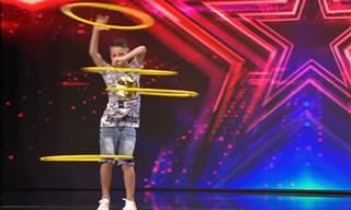מופע הולה הופ מרשים של ילד מוכשר במיוחד...