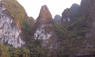 נוף מזמין: המראות והחוויות של מחוז גווילין ונהר הלי בסין
