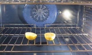 שיטה נהדרת להרחקת מזיקים באמצעות לימונים ותנור ביתי