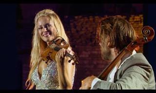 סטפן האוזר וקרוליין קמפבל במופע מוזיקלי מלהיב שיעשה לכם את היום!