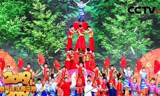 מופע האקרובטיקה הזה מוכיח שבסין עושים את הכל בגדול!