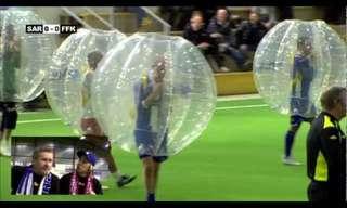 חיים בבועה - שיפור משעשע למשחק הכדורגל