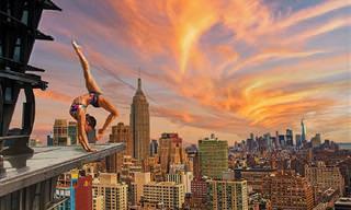 18 תמונות של אנשים עוסקים ביוגה בערים היפות בעולם