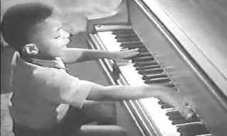 ביצוע מדהים של ריצ'ארד הקטן כשהיה ילד