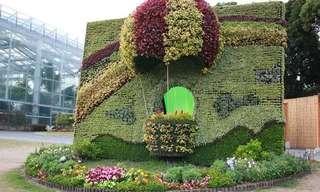 פיסול גן ביפן - מדהים ביופיו!!