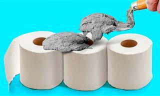 35 רעיונות לשימוש קל ויצירתי במלט לשדרוג הבית