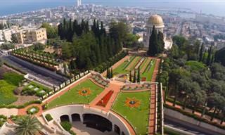 16 סרטונים שמציגים את ישראל ממבט על