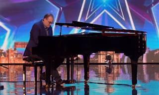 הם חשבו שזה רק עוד מופע פסנתר, אבל אז קרה משהו מדהים...
