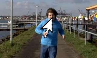 רץ בעקבות החץ - סרטון פלאש מגניב!