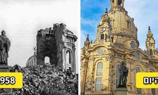 13 מבנים משוחזרים יפהפיים ששוקמו בעקבות הרס וסיפוריהם המרתקים