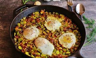 5 מתכונים טעימים ומיוחדים עם ביצים