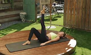 7 תרגילי פילאטיס לשיפור היציבה וחיטוב הגוף