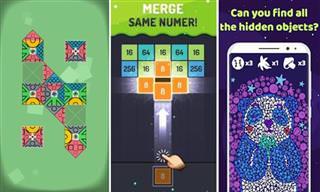 9 משחקי מחשבה מרגיעים לסמארטפון