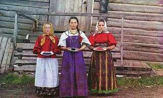 תמונות מרוסיה מלפני 100 שנה - בצבע!