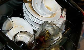 10 פריטים שמומלץ לא להכניס למדיח