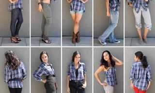 10 דרכים ללבוש חולצה מכופתרת של גבר!