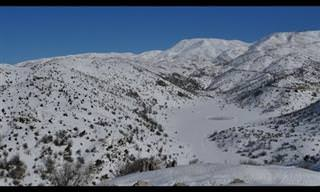 ככה נראה החורף בצפון הארץ – פשוט מדהים!