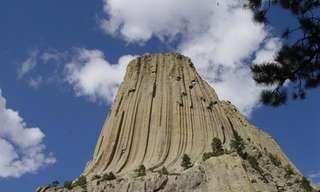"""מגדל השטן - הר מסתורי בארה""""ב"""
