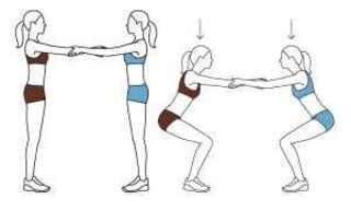 אימון זוגי - 6 תרגילים ב-15 דקות