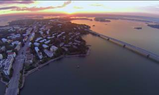 סרטון באיכות 4K שמציג את יופייה של הלסינקי