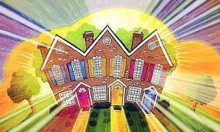 הבית עם החלונות מזהב - סיפור מקסים!