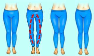 תרגילי כושר מחטבים ומותאים לפלג הגוף התחתון לפי מבנה הרגליים