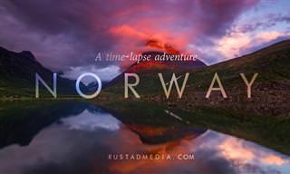 הנופים הנפלאים של נורווגיה מדרום לצפון באיכות 4K