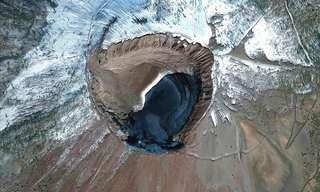 צילומי לוויין נדירים ומיוחדים מרחבי העולם