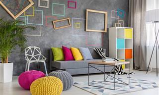 רהיטים בצבעים: אפשרויות, משמעויות ומה זה אומר על הסטייל שלך?