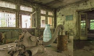 18 תמונות שמתעדות את השלכות אסון צ'רנוביל