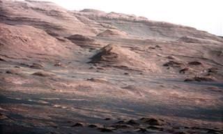 תיעוד מיוחד של כוכב הלכת מאדים מהגשושית קיוריוסיטי