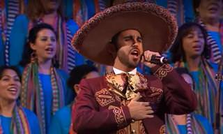 המריאצ'יס בביצוע לשיר הפופולרי ביותר במקסיקו