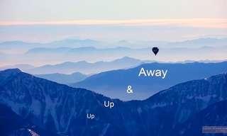 מעל האלפים בכדור פורח - עוצר נשימה!