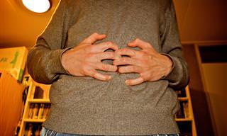 6 מתיחות יוגה להקלה על נפיחות בבטן