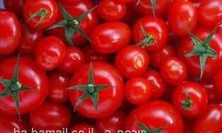 פירות וירקות: לכל צבע יש משמעות