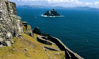 צאו למסע אל עולם אחר וגלו את נפלאות האי סקליג מייקל המרהיב