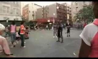 מופע רחוב בהארלם