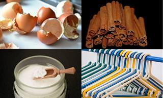 שימושים מפתיעים ל-12 פריטים שיש לכולנו בבית