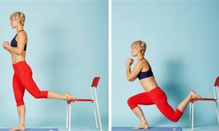8 תרגילי אימון ביתיים לחיזוק ואיזון שרירי הגוף השונים