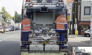 פירסום מגניב ומשעשע על גבי אוטובוסים. שווה צפייה!