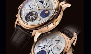זמן זה כסף - 10 השעונים היקרים בעולם!
