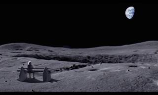 האיש על הירח - סרטון מרגש על חברות ברגעי בדידות
