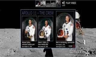 אפולו 11 - סיור פנורמי על הירח