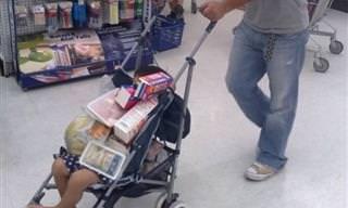 17 תמונות מצחיקות של הילדים עם ההורים הכי לא אחראים בעולם