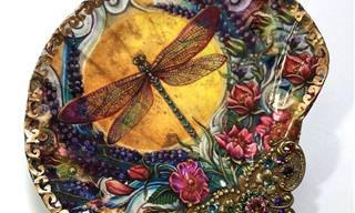 18 יצירות של צדפות מעוצבות ומרהיבות ביופיין