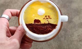 18 תמונות של עיצובי קפה נפלאים מדרום קוריאה
