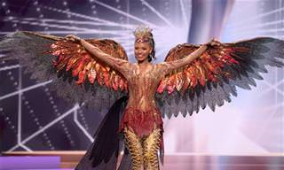 21 התלבושות המרשימות ביותר מתחרות מיס תבל 2021