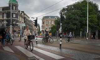 תמונות מאמטרדם - עיר על אופניים