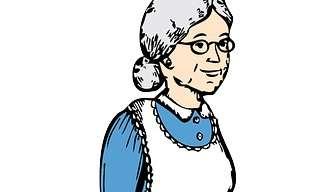 הסבתא והצעיר בסופרמרקט - בדיחה